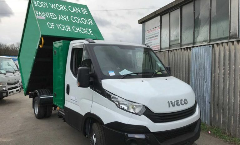NEW IVECO DAILY JUNK REMOVAL TIPPER WITH TOOL BOX full