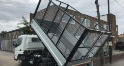 NEW FUSO CAGED TIPPER