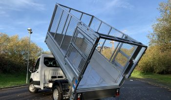 NEW MODEL FORD TRANSIT L2 CAGED TIPPER WITH TAIL LIFT full