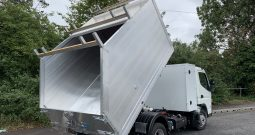 NEW FUSO CANTER All ALUMINIUM TIPPER WITH TOOL BOX