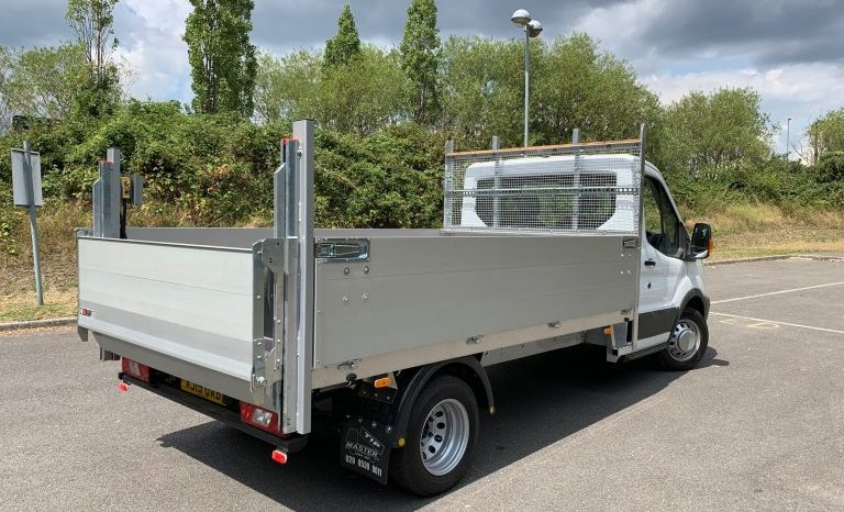 FORD TRANSIT MILD HYBRID L3 DROPSIDE WITH TAIL LIFT full